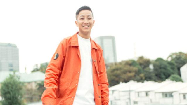 瑛人オレンジのジャケット