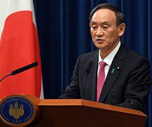 記者会見する菅首相の画像