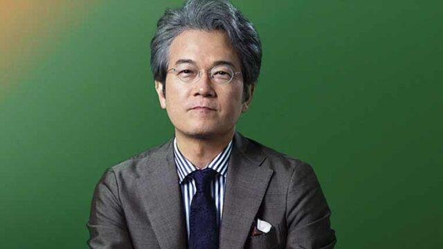 NHK有馬キャスターの正面バストアップ画像