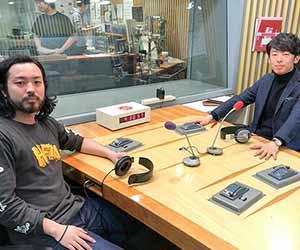 R-指定とDJ松永のラジオ収録現場