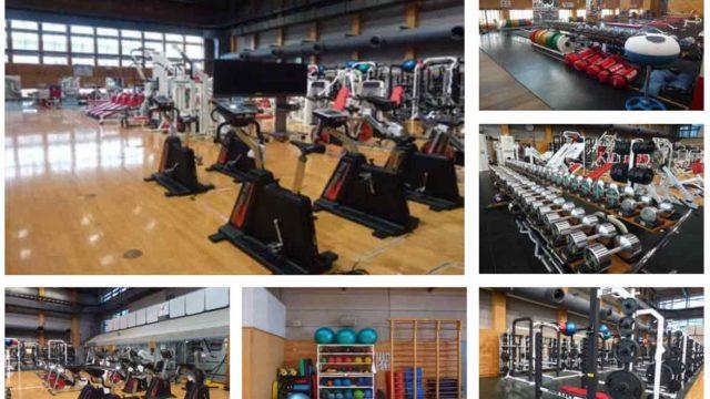 国立スポーツ科学センターのトレーニングエリア