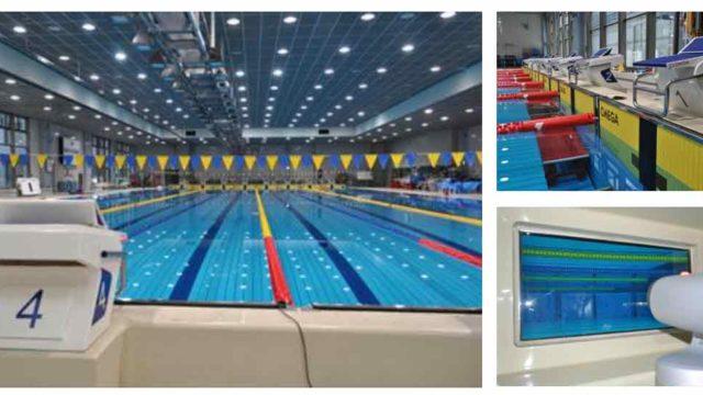 国立スポーツ科学センターのプール
