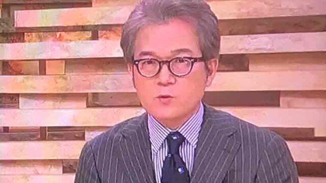 有馬キャスターニュースウォッチ9放送中