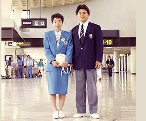 橋本聖子1988年の画像