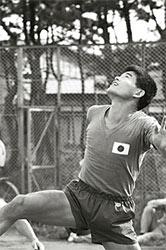 現役サッカー選手時代の川淵三郎