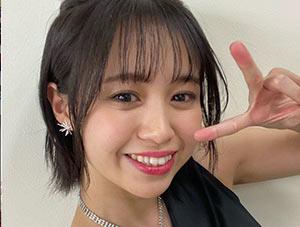 高木紗友希のピースと顔画像