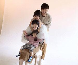福原愛と夫と子供の画像