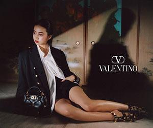 Kokiのヴァレンティノ広告