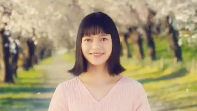 マックてりたまCMの桜の精役の夏子