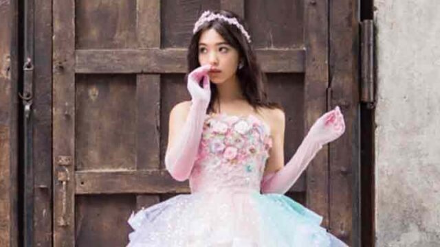 藤田ニコルのウェディングドレス姿