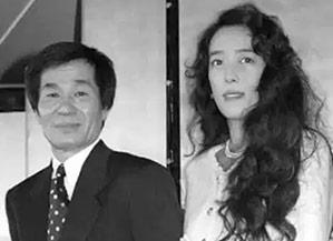 田辺社長と小林麻美の画像