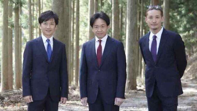 株式会社TOKIOの3人のプロフィール画像