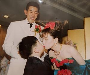 門倉健コーチと嫁の民江の結婚式