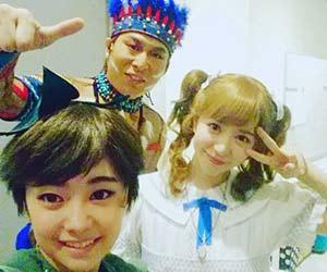 河西智美と小山圭太