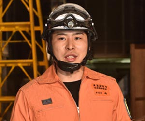 ドラマ『Dr.DMAT』嶋役の小山圭太さん