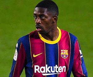 サッカーフランス代表デンベレ選手