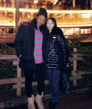 オコエ桃仁花と母の2ショット画像