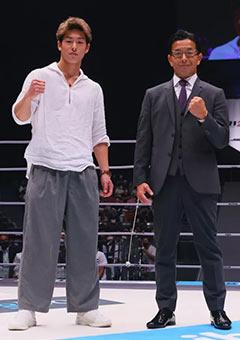 三浦孝太とライジン榊原信行CEOは