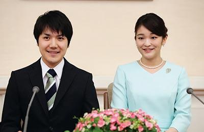 小室圭さんと眞子さまの結婚会見