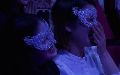 『ザ・マスクド・シンガー』の観客
