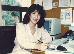 高市早苗の米国連邦議会オフィスでの写真