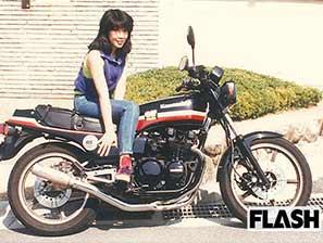 高市早苗のバイクライダー画像